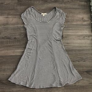 Billabong striped skater dress